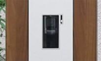 施工イメージ インターホンブロック ファンクションユニット アクシィ 機能門柱 LIXIL