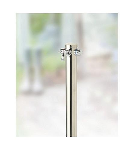 湯水混合水栓柱