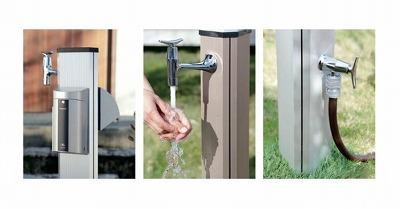 水栓柱 ガーデンポールプリズムLE