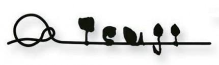 オンリーワン 表札 和錆 ステンレスバー 結 yui NL1-N70□□
