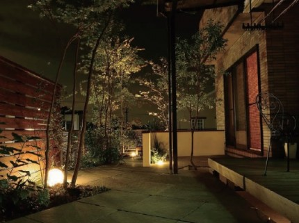 ガーデン 照明 エクステリア タカショー