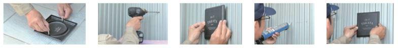 オンリーワン 表札 ワールドスタイル パレット サーフボード ニューポート エンブレム カリフォルニア 取付方法