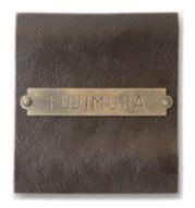 オンリーワン 表札 オールドタイムズ真鍮+ロートアイアン type02 NA1-SBI02DM
