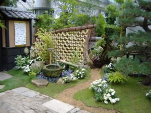 和と水の庭 江戸のハナショウブと和の演出 淡路夢舞台 奇跡の星の植物館 2019