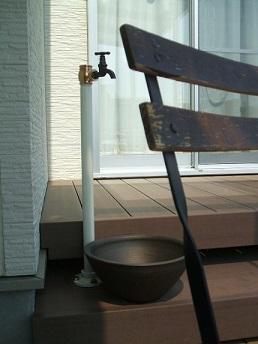 立水栓 ガーデンリフォーム 施工例 apoa