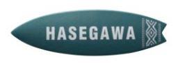 オンリーワン 表札 サーフボード HS1-CA18SASG