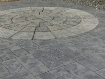 雑草対策 デザインクリート お庭づくり APOA 三重県津市