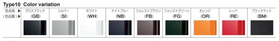 オンリーワン 表札 ネームプレート+LEDウォールアクセサリーライト NA1-LW10A 色記号