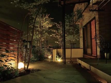 ガーデン アップライト タカショー