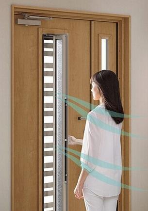 採風タイプ 玄関ドア リフォーム LIXIL APOA 三重県津市