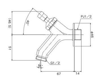 オンリーワン 蛇口 トランクフォーセットライン 真鍮 ブロンズ 鋳肌メッキ GM3-F-281L GM3-F-282L GM3-F-284L