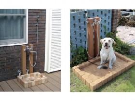 ニッコー シャワープレイス レヴウッド ペット用 立水栓
