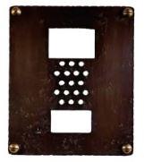 オンリーワン 鍛鉄製・銅製インターホンカバー