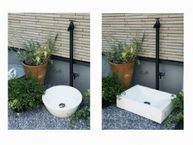 jb330738 テラゾー手洗い鉢