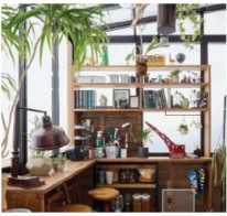 DIY 棚 カウンター ガーデンルームGF LIXIL