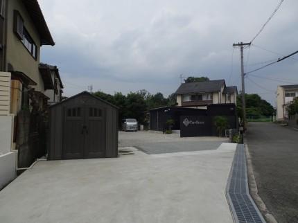 倉庫 駐車場