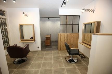 完成見学会 美容院 店舗併用住宅 三重県鈴鹿市 APOA