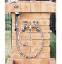 ニッコーシャワー用水栓金具 カランパイプ無し