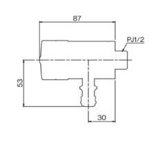 AT式ホース接続回転水栓