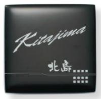 オンリーワン 表札 フュージングガラス ブラックタイプ AG1-BKL11