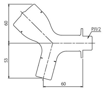 盗水防止水栓。ミズロック横水栓151型