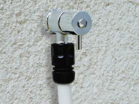 回転式ホース接続用蛇口