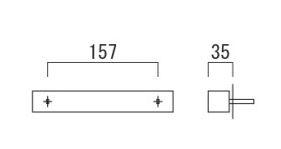 オンリーワン 表札 スマート NA1-SS44