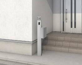 縦型ポスト ファンクションユニット アクシィ 機能門柱 LIXIL