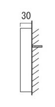 オンリーワン 表札 リエル AG1-PKL03