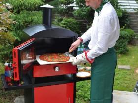 チャコールピザオーブン