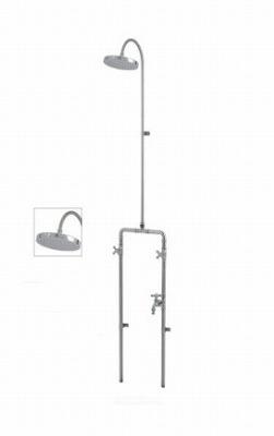 混合シャワー水栓柱 ヌーディーダブルN