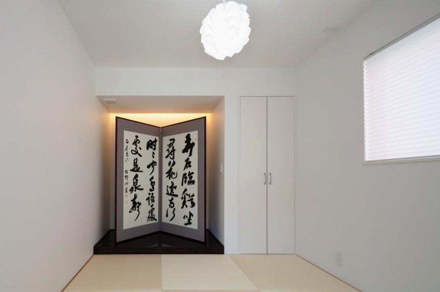 apoa,アポア,新築,亀山市,和室,白い畳
