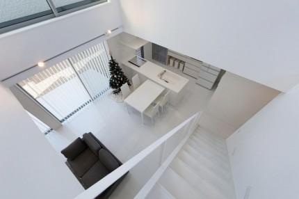 apoa,アポア,新築,亀山市,2階,階段,白い